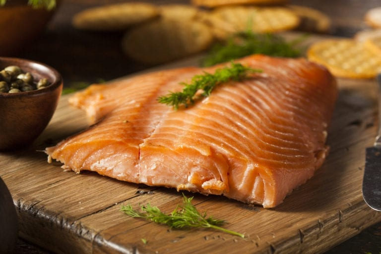 Homemade Smoked Salmon Appetizer