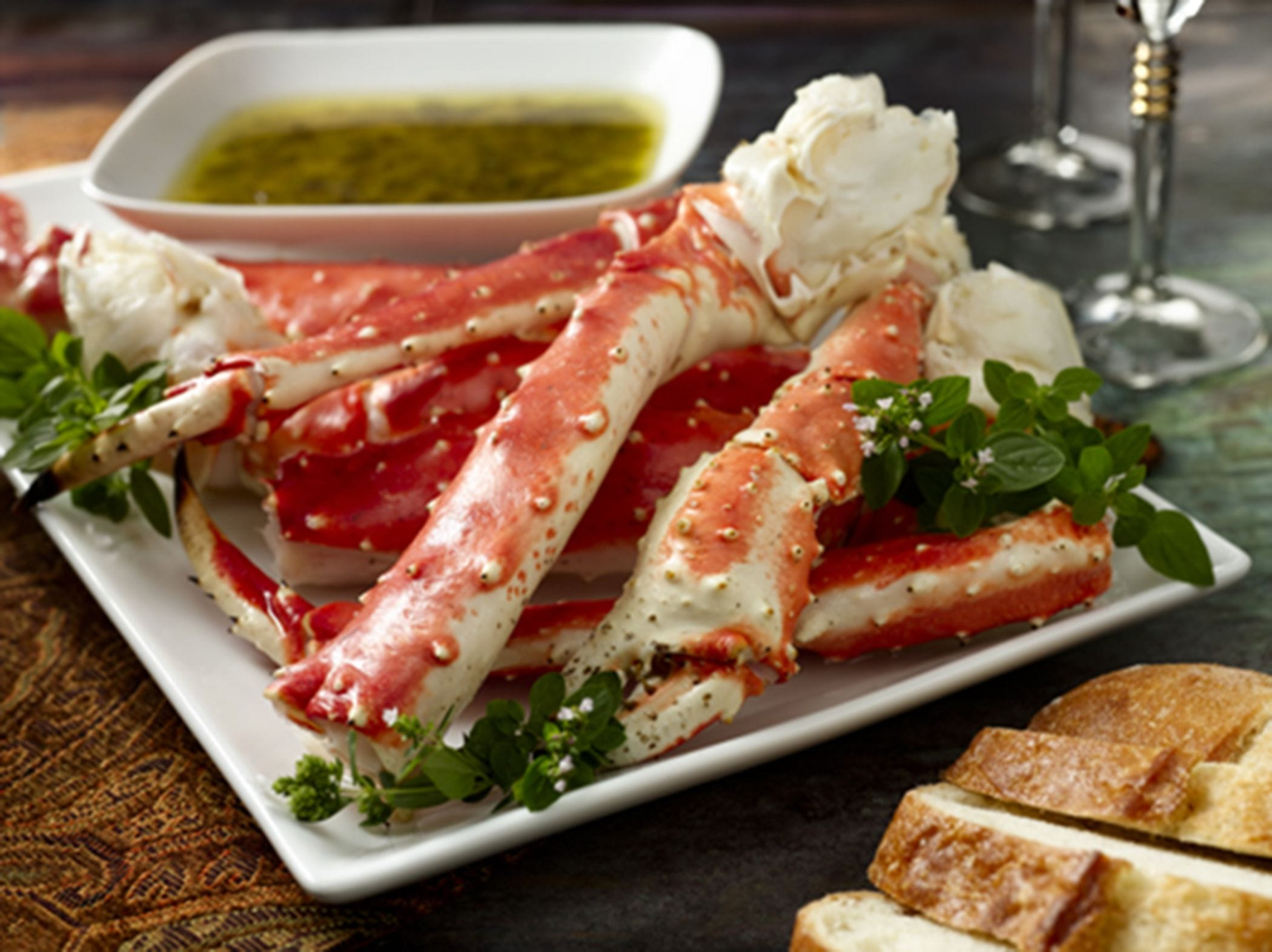 Alaska Crab King Crab Provencal Image